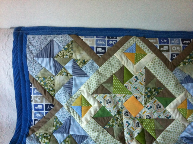 Das A&O einer Patchwork Babydecke