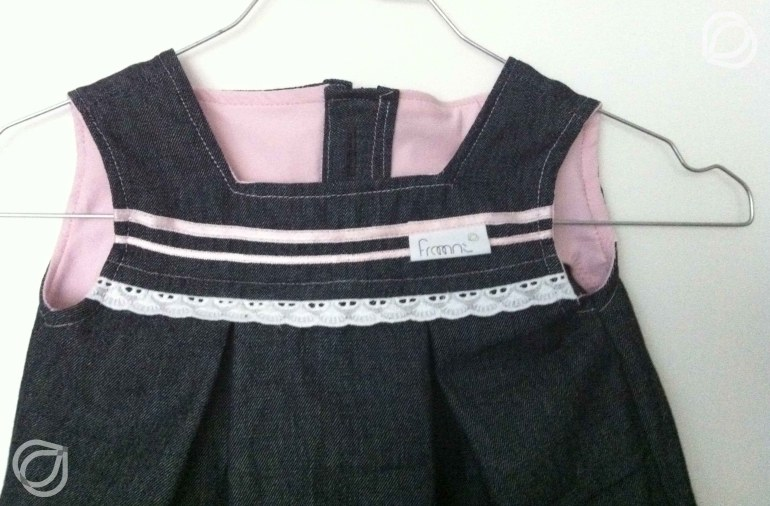 Kjole Jeanskleidchen - made by fraaanz