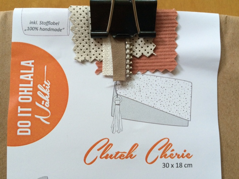 Clutch-Cherie-Nähkit