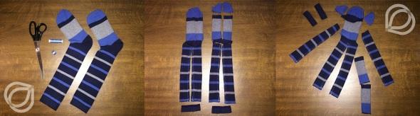 Socken-1.Zuschnitt